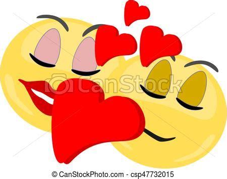 imagenes emoji de amor amor emoji ellos amor pareja editable grande vector