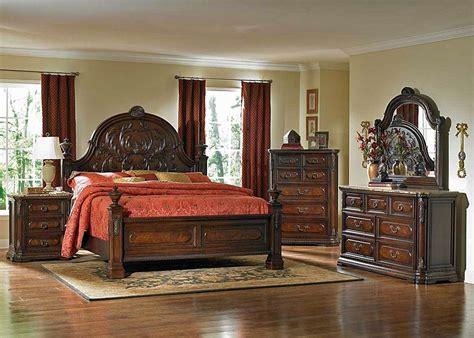 deniro storage bed rustic finish king bedroom sets