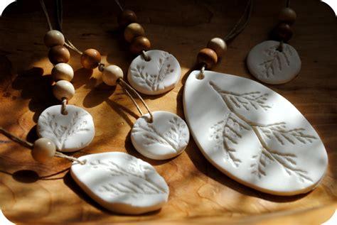 Handmade Clay Ornaments - gardenmama impressions in clay giftmaking tutorial