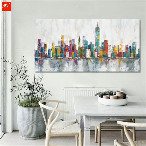 home decor paintings for sale aliexpress com buy 2016 new york skyline cityscape