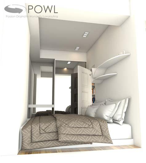 desain kamar owl paket interior apartemen 2 kamar landmark residence bandung