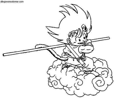 imagenes de goku niño para dibujar dibujos de goku de peque 241 o dragonball para colorear