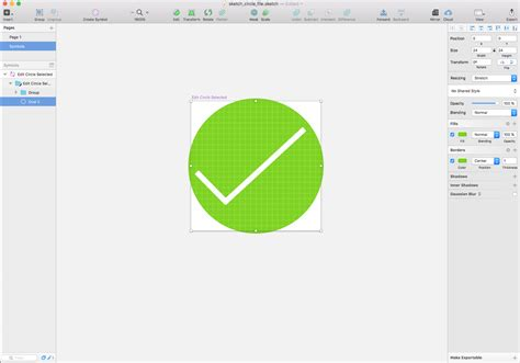 sketch export pattern sketch circular icon export clipped graphic design stack