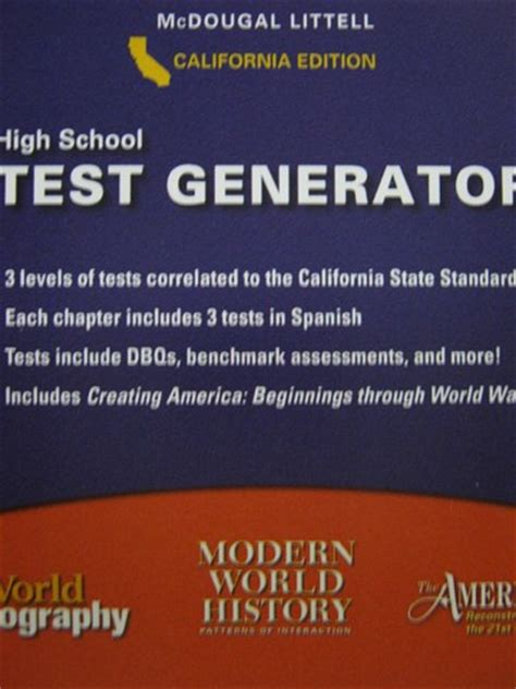 interaction pattern in spanish high school social studies test generator ca cd