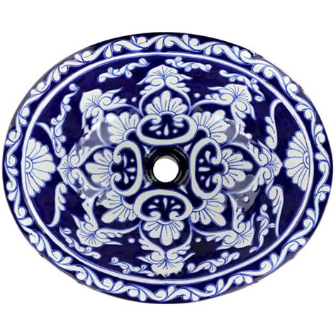 talavera bathroom sinks mexican tile la parada on pure white mexican hacienda