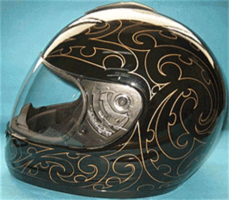 Motorrad Helm Made In Germany by Motorradhelm Mit Maori Design New Zealand