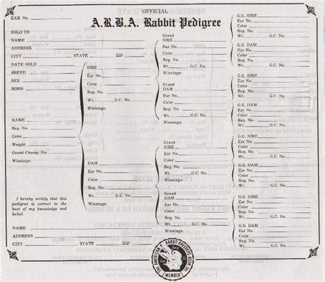 rabbit pedigree template roundup of rabbit pedigree programs mad hatter rabbits