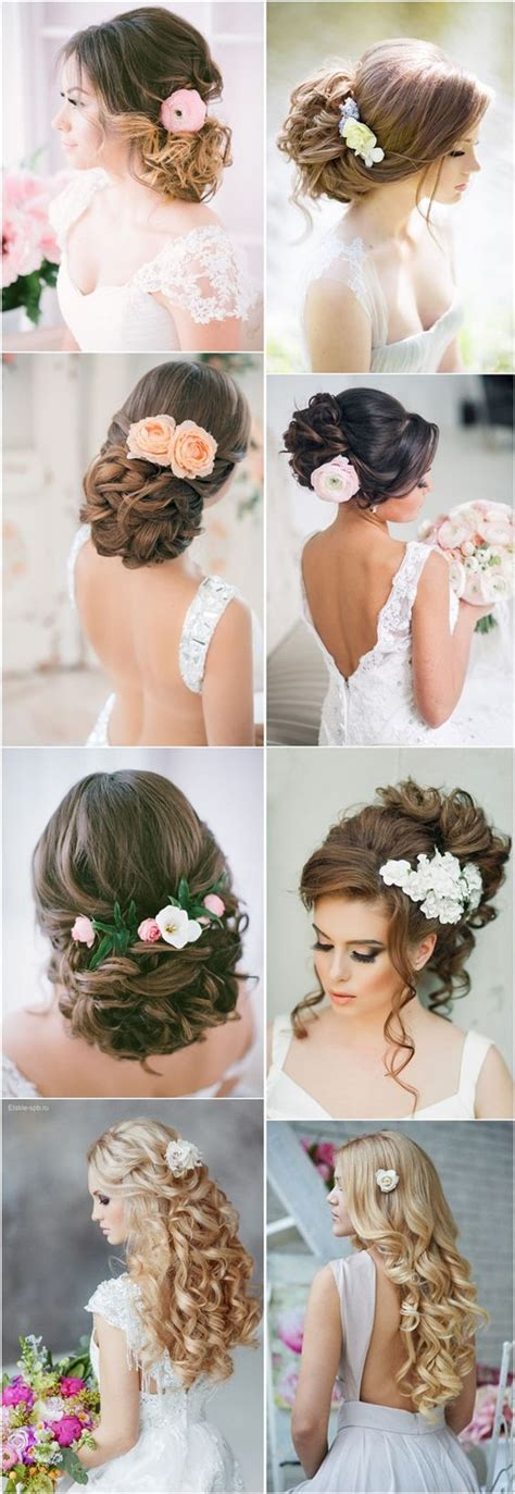 Wedding Updos With Flowers by Wedding Hairstyles Wedding Hairstyles And Hairstyles