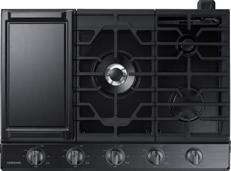 28 inch cooktop samsung na30k6550tg 30 inch gas cooktop with 5 sealed