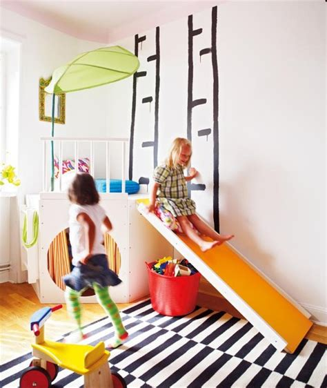 ikea slide add an element of fun with indoor slides design dazzle