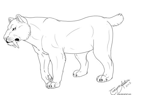coloring page saber tooth tiger get this saber tooth tiger coloring pages to print 67219
