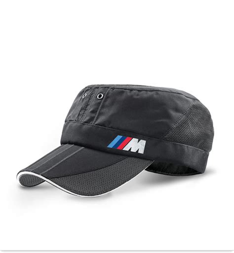 bmw m logo genuine baseball cap hat carbon style unisex