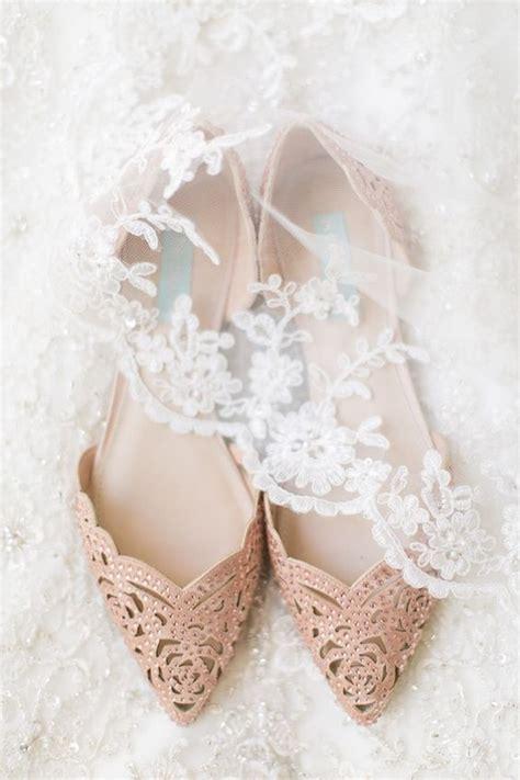 Flat Embellished Wedding Shoes by 20 Adorable Flat Wedding Shoes For 2018 Emmalovesweddings