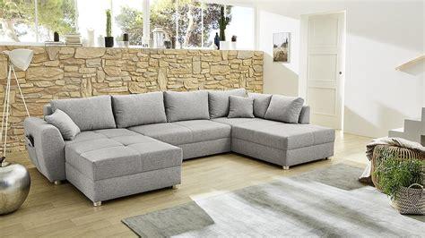 wohnlandschaft  form sofa starnberg grau bettfunktion