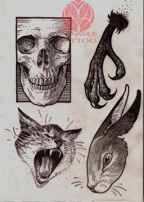 tattoo portfolio sketches drawings portfolio nayana
