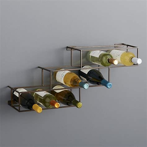 Crate And Barrel Wine Racks by Matrix 12 Bottle Wine Rack Crate And Barrel