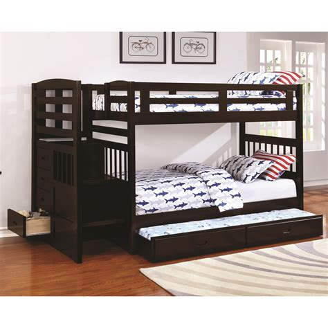 coaster furniture bunk bed coaster dublin 460362 bunk bed with
