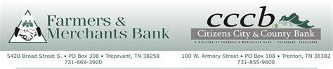 Citizens Bank Letterhead Farmers Merchants Bank By Larry Elliott Design
