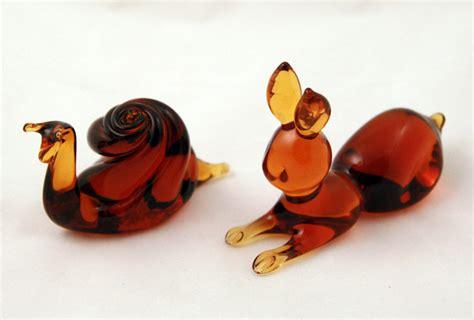 Kanawha Handcrafted Glassware - kanawha glass made bunny rabbit retro glass