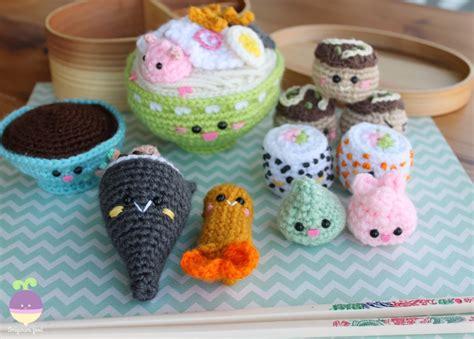 pattern amigurumi food amigurumi food bento family ii amigurumi food crochet pattern
