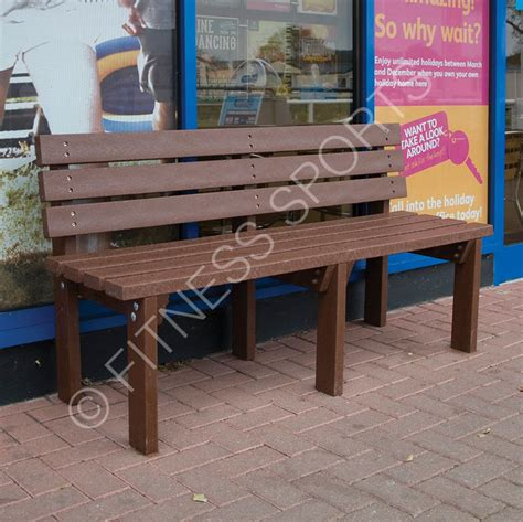 recycled benches outdoor outdoor pvc recycled plastic seating bench fitness