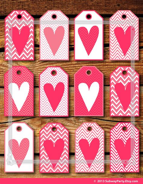 4 best images of heart printable valentine gift tags