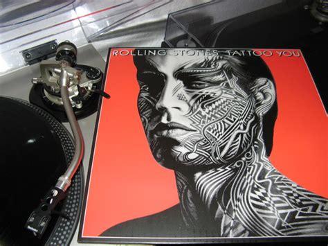 rolling stones tattoo you chords der rotierende vinyl thread was dreht bei euch auf