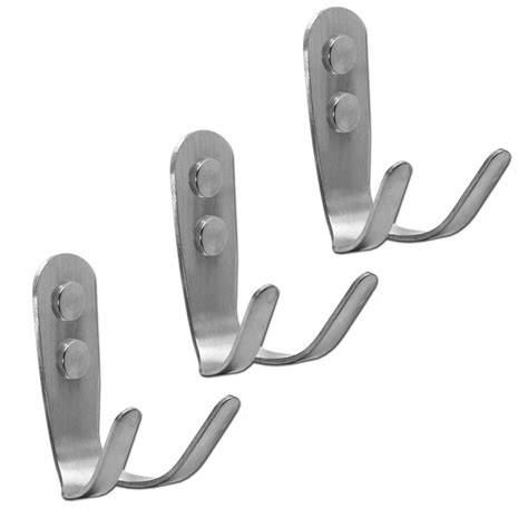 wall hooks for bathroom wall hook steel bathroom hook robe hat coat hooks brushed