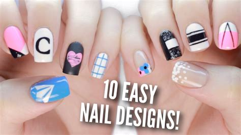 easy nail art by cutepolish 10 back to school nail art designs the ultimate guide 2
