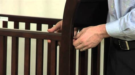 Crib Assembly Sleigh Crib Pottery Barn Kids Youtube How To Assemble A Baby Crib