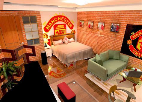 desain kamar tidur manchester united kumpulan desain rumah