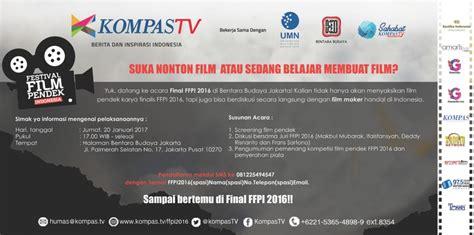 film terbaik festival film indonesia tiga penonton terbaik festival film pendek indonesia 2016