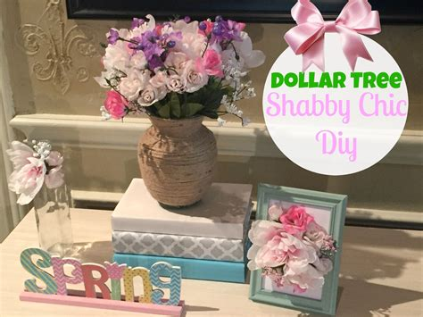 dollar tree diy shabby chic decor