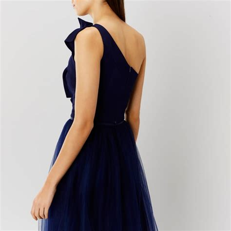 Navy Bow Top by Navy Bow One Shoulder Top Brandalley