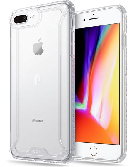 poetic afiinity clear premium thin for iphone 7 plus iphone 8 plus ebay