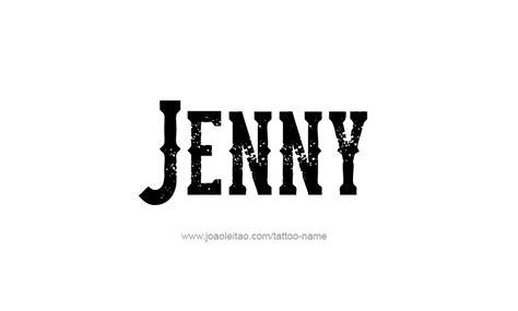 tattoo name jenny jenny name tattoo designs