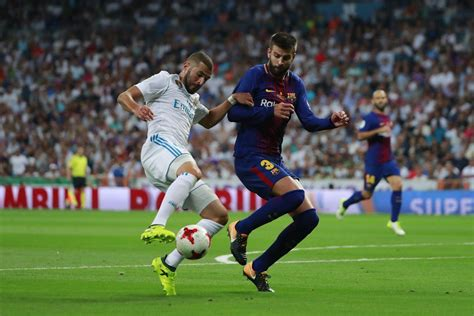 barcelona real madrid real madrid vs barcelona super cup goals match report