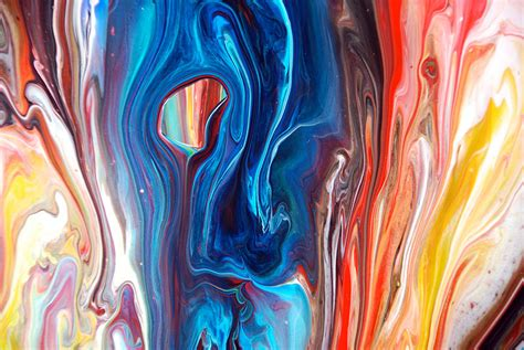 pouring acrylic paint on canvas pouring paint this is a up from one of my