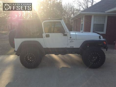 2001 Jeep Wrangler Fuel Wheel Offset 2001 Jeep Wrangler Suspension Lift 4 Quot Custom Rims