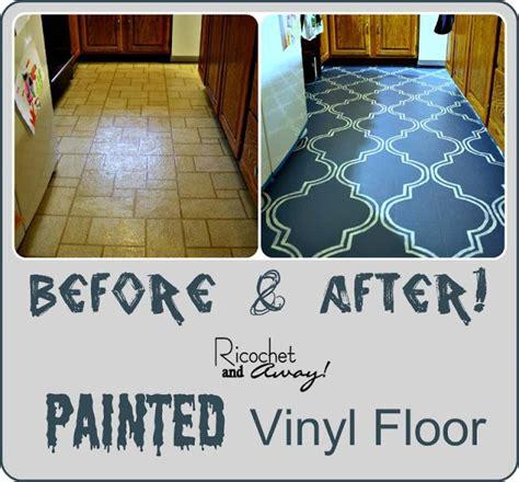 painted kitchen floor ideas 25 best ideas about painted vinyl floors on