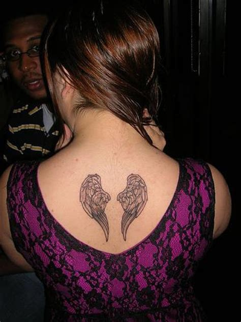 Wings Tattoo Images Designs Small Wing Tattoos On Back
