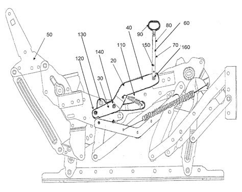 recliner mechanism parts lazy boy rocker recliner parts diagram how to repair lazy