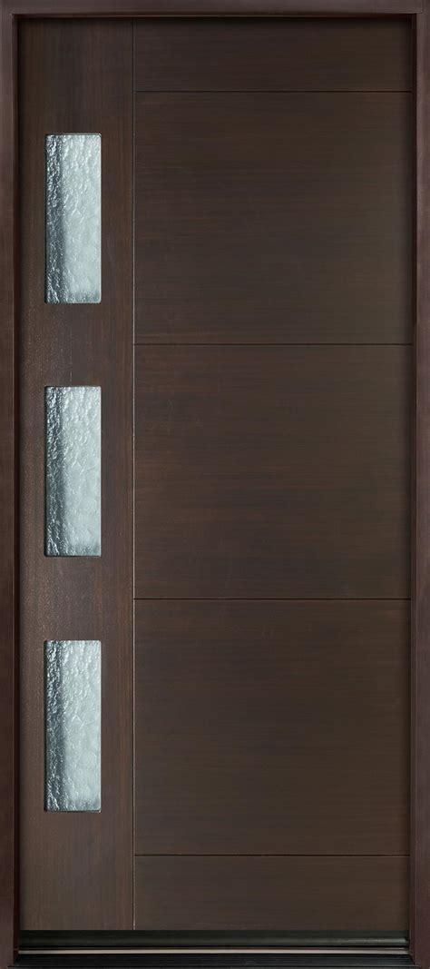 front door view entry door in stock single modern technology with