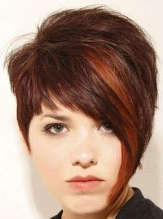 older women with asymetric hairstyles short asymmetrical hairstyle back view alternative short