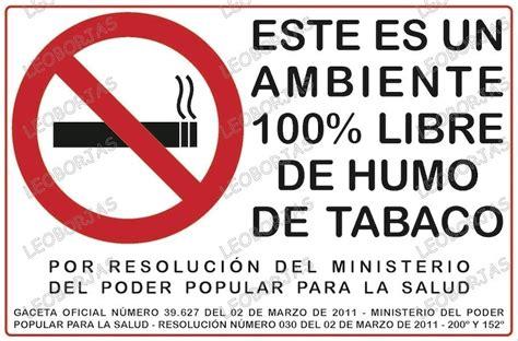 imagenes sanidad libres image gallery letreros de no fumar