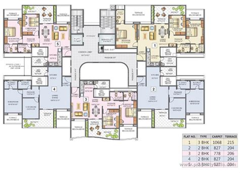 maternity hospital floor plan kunal aspiree balewadi pune apartment flat project