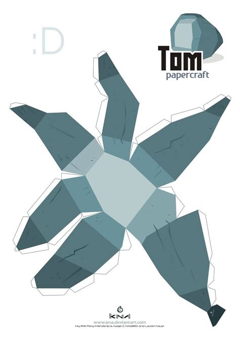 Papercraft Pattern - tom papercraft pattern by kna on deviantart