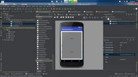 android studio tutorials android studio tutorial castellano 1 63 comunicacion entre fragments tutoriales en espa 241 ol