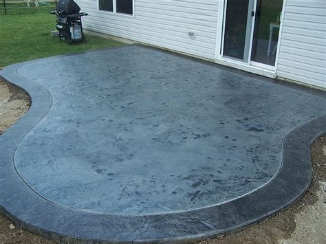 How To Clean Stained Concrete Patio by Acid Stained Concrete Patio Depot Concrete Stain Diy