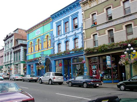 pictures of downtown bc downtown shopping in visitor in